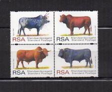 RSA Afrique du Sud South Africa Y&T N°971 à 974 bloc de 4 timbres neufs/T3845