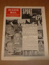 Record Mail July 1960 (Radio Luxembourg/Johnny Ferguson/Frank Ifield)