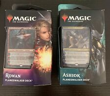 Magic the Gathering Rowan and Ashiok Planeswalker Decks New