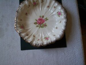 A G Richardson Crown Ducal Large Pink Rose Bowl 23cms across after 1915