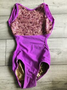 Simply Stella Pink Sequin Leotard Dancewear SA