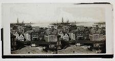 Cologne Köln Mülheim Allemagne Photo Ferrier ? Plaque stéréo ca 1860