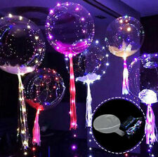 Led Ballons Helium Balloon Happy Birthday Decoration Wedding Bubble Balloon