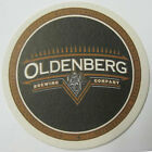 OLDENBERG BREWING COMPANY Beer COASTER, Mat, Ft. Mitchell, KENTUCKY 1996 issue