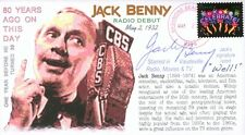 COVERSCAPE computer designed Jack Benny radio debut 80th anniversary event cover