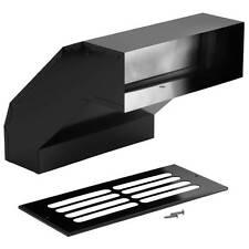 Broan 431 Long Eave Elbow Transition for Range Hoods and Bath Ventilation Fans