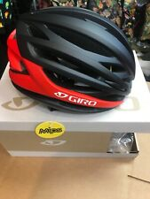 Giro Syntax Matte Black Red Cycling Helmet Size XLarge