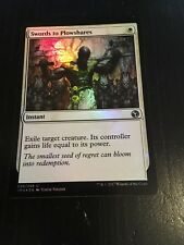 MTG MAGIC ICONIC MASTERS - SWORDS TO PLOWSHARES (NM) FOIL
