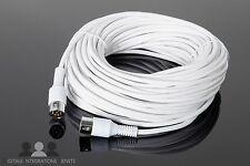 Powerlink Kabel 20m weiss für Bang & Olufsen Lautsprecher 8 polig B&O Beo