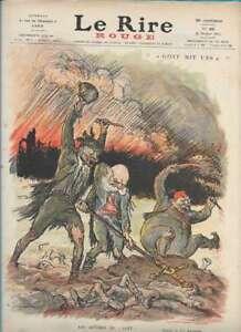 Journal Le RIRE Rouge, édition de guerre N° 49 du 23 octobre 1915