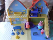 Peppa Pig Play House With Play Mat - Furniture - figures - Boxed & Complete