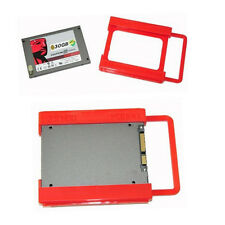 Plastic 2.5 to 3.5 Adapter Bracket SSD HDD Notebook Mounting Tray Caddy Bay Post