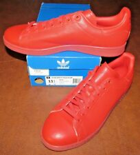 Adidas STAN SMITH ADICOLOR S80248 (RED) SIZE 11.5 - NEW IN BOX>FREE SHIPPING!