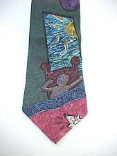Vintage BEATLES GOOD MORNING SILK TIE 1991 by Apple Corps. Limited USA