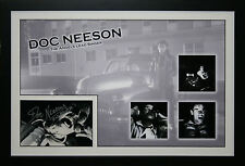 Doc Neeson signed The Angels Collage Framed Photo Proof Coa
