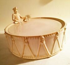 Pottery Barn 12 DAYS CHRISTMAS CAKE STAND 12 DRUMMERS DRUMMING RETIRED/VHTF
