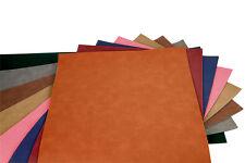 "12"" x 24"" Custom Cut .045"" Soft Leather Suede Sheet Stock DIY Craft Use"