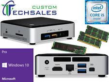 NEW Intel NUC NUC6I5SYK Mini PC i5-6260U 120GB M.2 SSD 8GB RAM Windows 10 Pro
