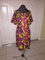 NIGERIAN AFRICAN WAX ANKARA DRESS ( CULTURAL& ETHNIC CLOTHING > AFRICA )
