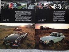 MG B, BGT & Midget 1974 Magazine Advertisement - Original - Very Good Condition