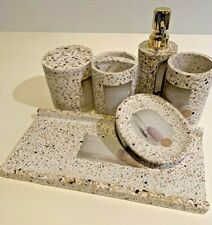 Real Simple Bath Accessory Collection Set Bathroom Accessories Home Decoration