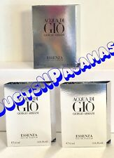 LOT of 3~Giorgio Armani AQUA DI GIO ESSENZA Eau de Parfum .05fl.oz CARDED SAMPLE