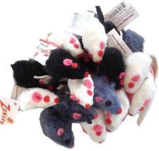 20 x Cat Toy Realistic Fur Mice