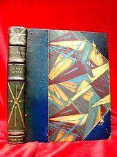 ULYSSES James Joyce FIRST EDITION 9th Printing ART DECO Leather Binding Classics