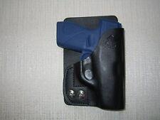 TAURUS PT 709 SLIM, formed leather LEFT HAND, wallet and pocket holster