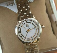 Tory Burch Watch with 28mm rose gold & ivory face and Rose gold breclet.