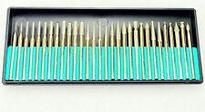 H-Diamant-Fräser-Set Diamant-Schleifer Schleifstift Bohrer Satz für Dremel v81