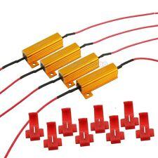 4PCS 50W 12ohm 12RJ LED Load Resistor Decoder Fix Hyper Flash Turn Signal Lights