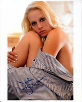 JADE PIPER hand-signed SEXY 8x10 COLOR CLOSEUP PORTRAIT w/ uacc rd coa IN-PERSON