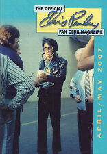 OFFICIAL ELVIS PRESLEY FAN CLUN MAGAZINE 2007 APRIL/MAY