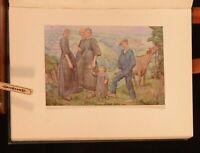 1923 Figure Painting Water-Colours Sheringham Holme First Edition Colour Illustr