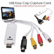 New Easycap USB 2.0 Audio Video VHS to DVD PC Converter Capture Card Adapter Mac