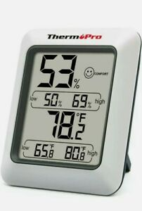 ThermoPro TP50 Digital Thermo-hygrometer, Indoor Humidity & Temp Monitor