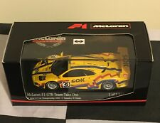 MINICHAMPS 1:43 McLAREN F1 GTR TEAM TAKE ONE GT JAPAN 2000 LIMITED EDITION 1,824