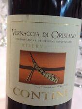 6 BOTTLES VERNACCIA DI ORISTANO DOC RISERVA 1991 0,375 LT. CONTINI