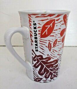 Starbucks 11 oz Coffee Mug,  Autumn - Fall Leaves Used