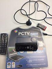PINNACLE PCTV HYBRID PRO STICK TV DIGITALE PC USB WINDOWS COME NUOVO COMPLETO !!