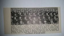 Maine University Black Bears Orno 1921 Football Team Picture