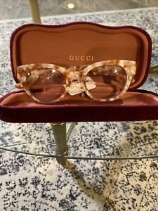 Woman's Gucci Optical Glasses Bee And Star Embellished Made In Italy