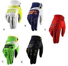 100% Handschuhe MX Airmatic Gloves Enduro Motocross 2016 Weiß Schwarz Rot Grün