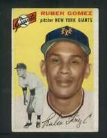 1954 Topps #220 Ruben Gomez EX/EX+ RC Rookie NY Giants 80087