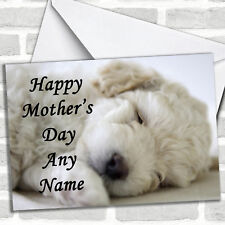 Bichon Frise Mother's Day Customised Card