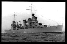 USS Vincennes CA-44 postcard US Navy Heavy Cruiser