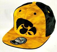Outerstuff University Of Iowa Hawkeyes Black Yellow Snapback Youth Hat Cap New