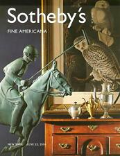 Sotheby's /// Americana Folk Art Post Auction Catalog 2004