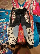 RARE Vintage JT Racing Dalmation Paintball Motocross 32 Pants old school